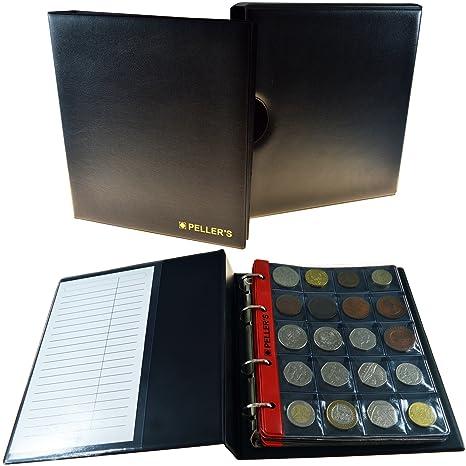 PELLERS Álbum de monedas con cajetin para 186 monedas (tipo ...