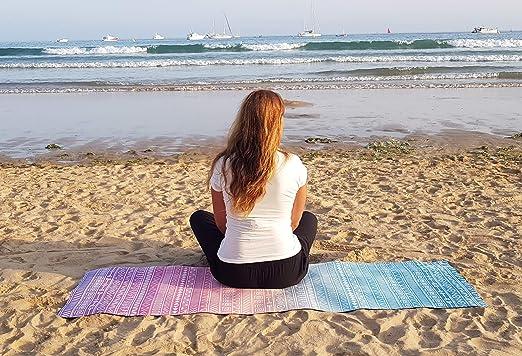 Amazon.com: Reetual, la esterilla de yoga que adora el sudor ...