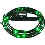 NZXT -  Lámpara LED (Verde, 100 cm)