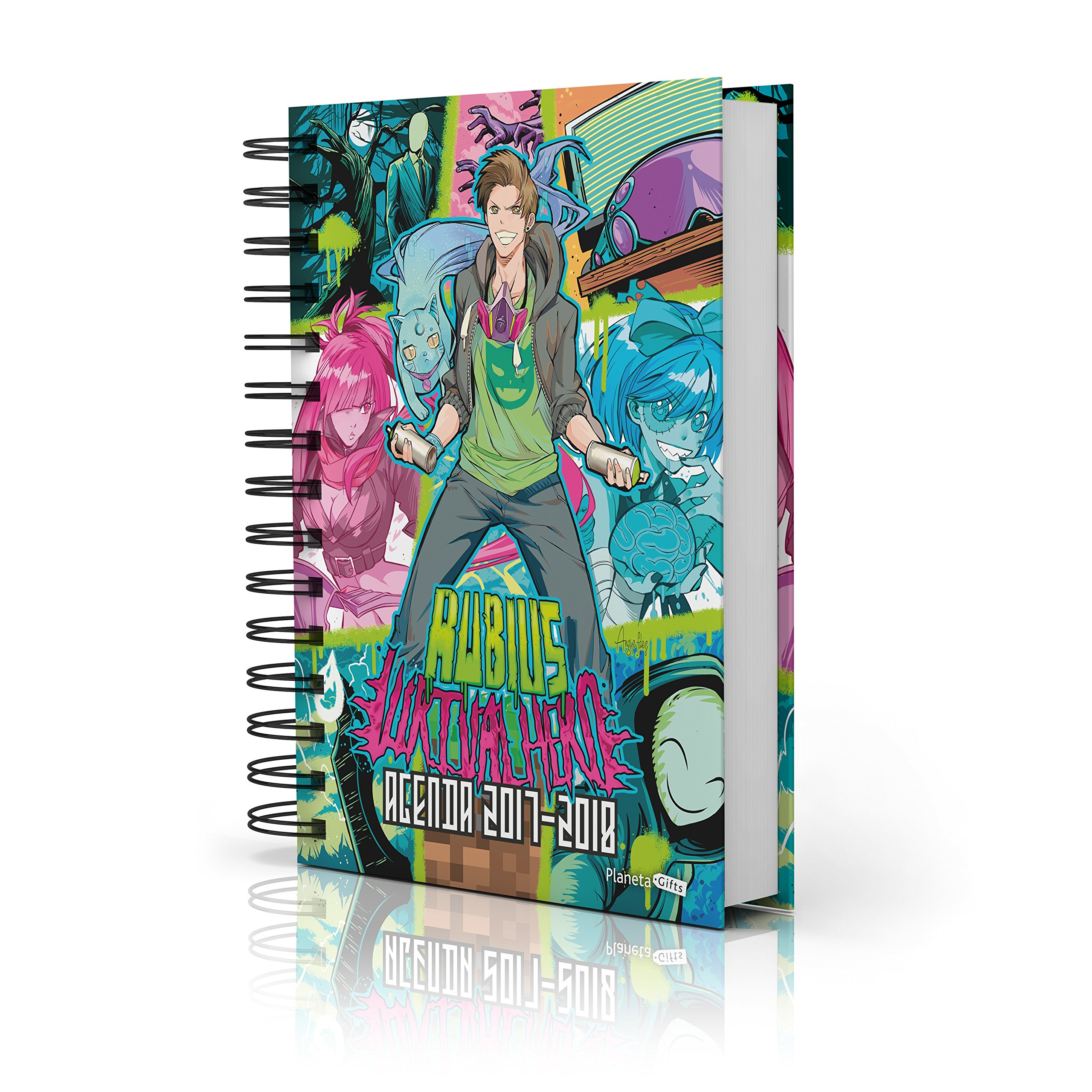 Agenda escolar elRubius 2017-2018: 9788408172291: Amazon.com ...