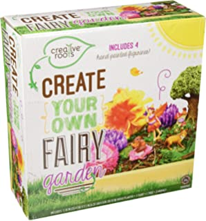 Amazoncom Enchanted Fairy Garden Kit Arts Crafts Sewing .