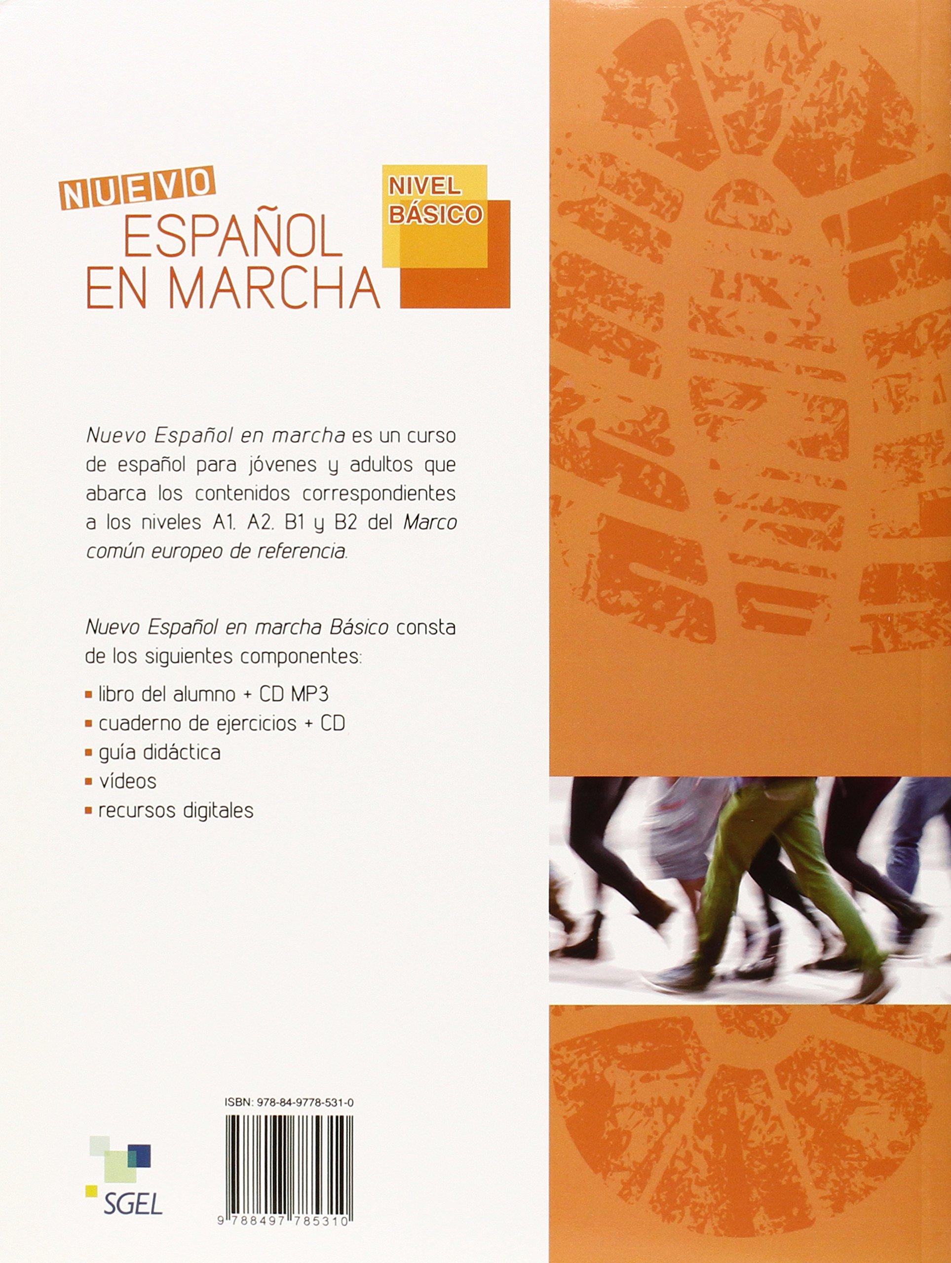 Nuevo Espanol en Marcha Basico : Exercises Book + CD: Levels ...