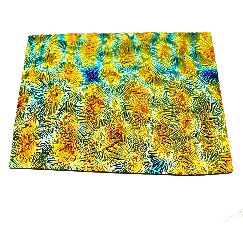1 Lb DichroMagic Tie Dye Scrap On Wissmach Thin Black Textures - 90 COE by Wissmach (Image #2)