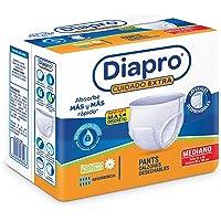 Diapro Pants Calzón Desechable Unisex para Adulto - Mediano, 80 piezas (8x10)