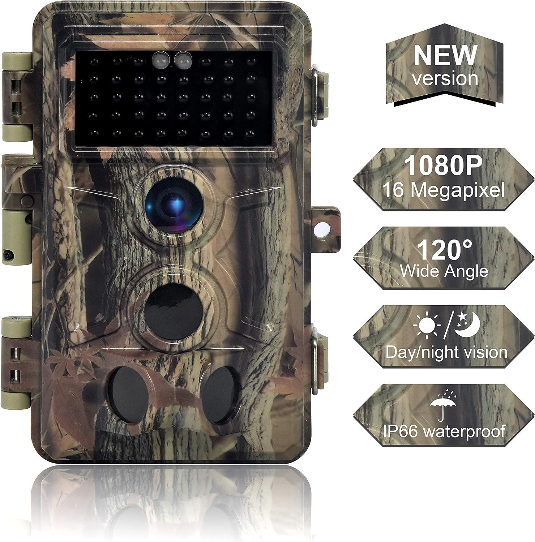 Compra Cámara trampa DIGITNOW 16MP Cámaras de Caza 1080P HD Impermeable