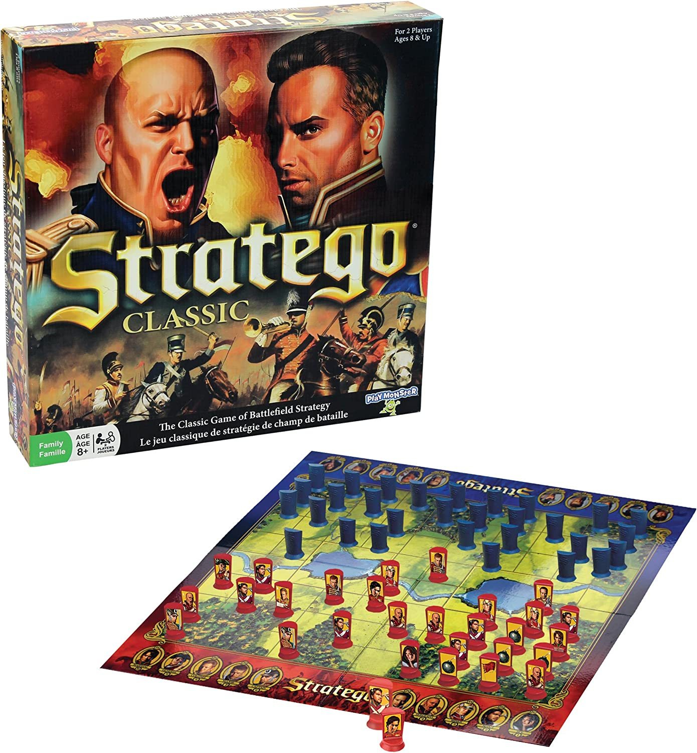 Classic Strategy Board Game by Stratego: Amazon.es: Juguetes y juegos