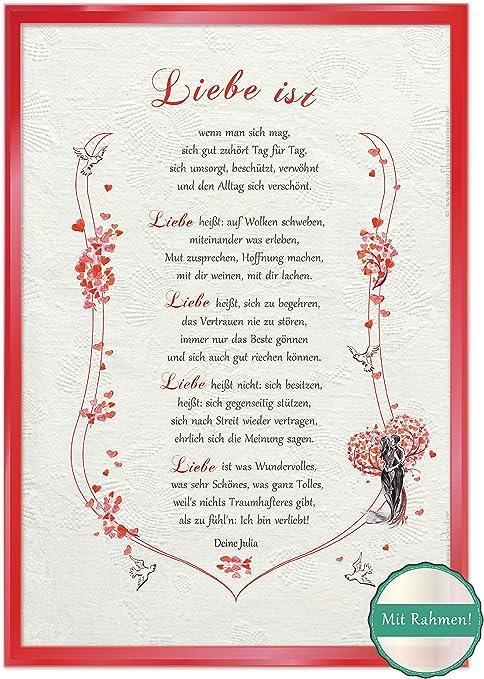 Poema de mi querido cofre del tesoro certificado de regalo con estuche de aniversario, 15 x 20 cm: Amazon.es: Hogar