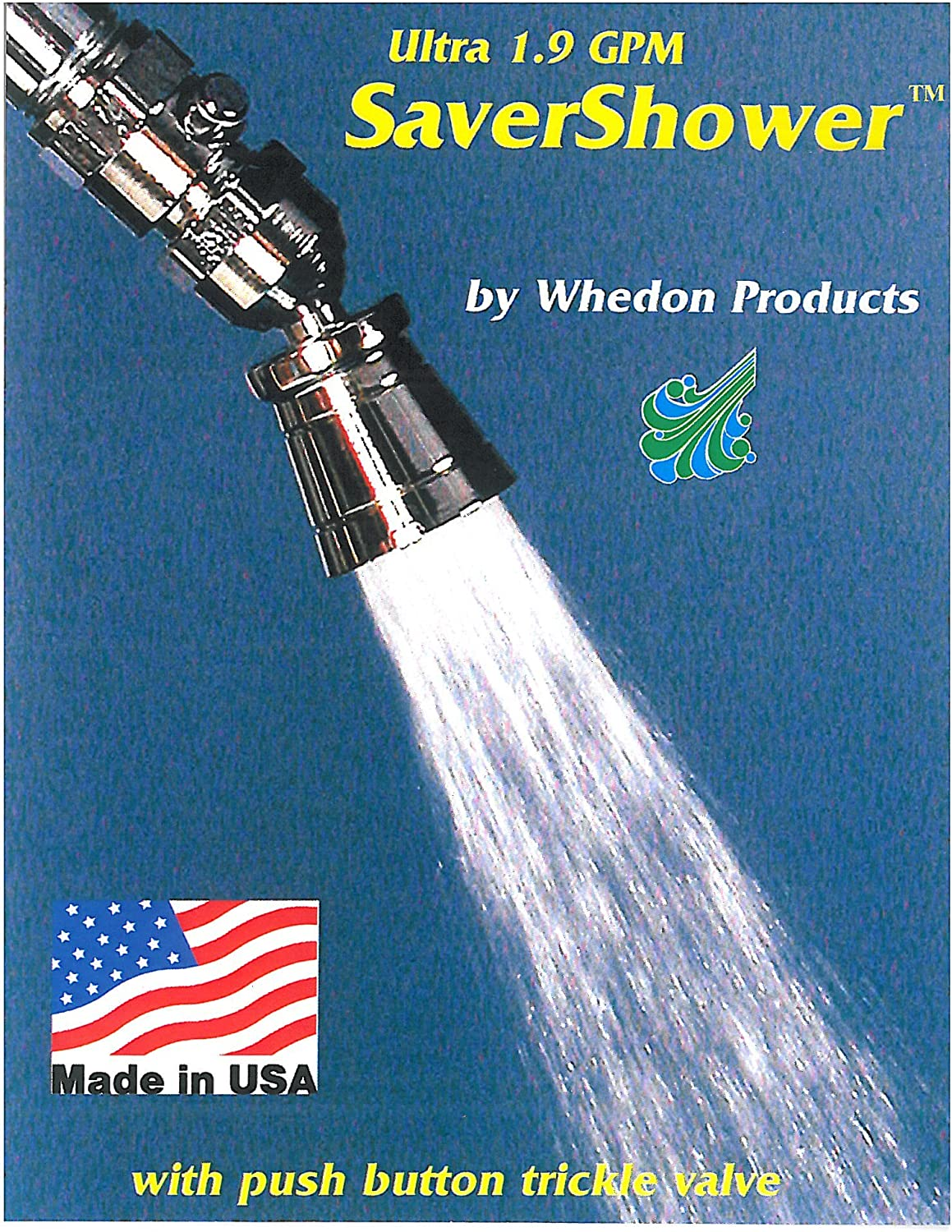 Whedon USP29C Deluxe Ultra 1.9 Saver Shower, Chrome Plated Brass