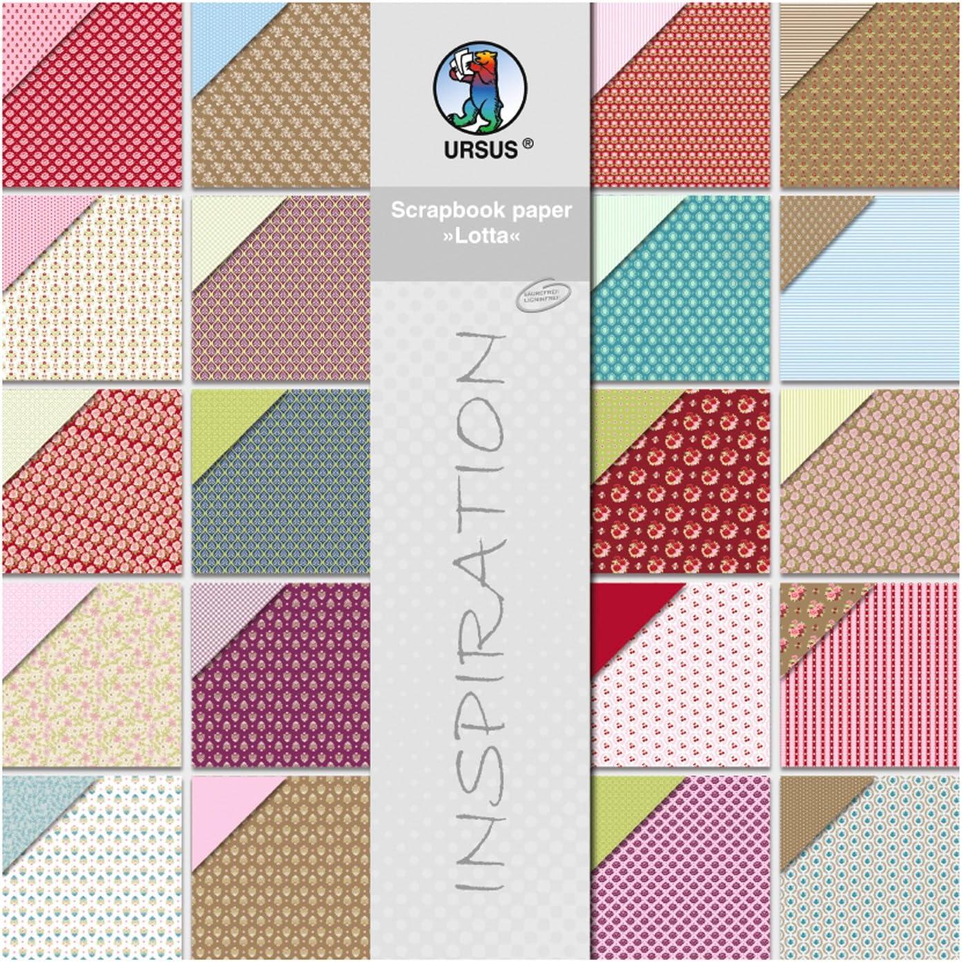 URSUS de Scrapbook Paper bloque Struktura color//modelo surtido