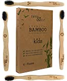Fifth & Eco Charcoal Bamboo Toothbrush - Kids