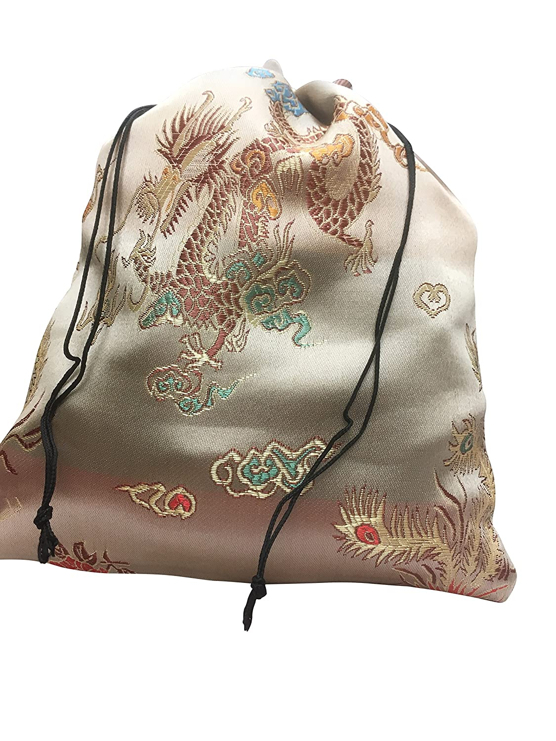 1294457978fe Embroidered Brocade Drawstring Backpack- Fenix Toulouse Handball