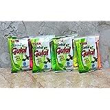 Tota Holi Herbal Colors Gulal Holi Rangoli Color Powder Pack of 4 (100 Grams Each)