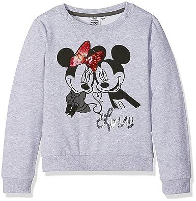 Minnie MNIE46133, Sudadera para Niñas, Gris (L. Gry Melee) 10 años: Amazon.es: Ropa y accesorios