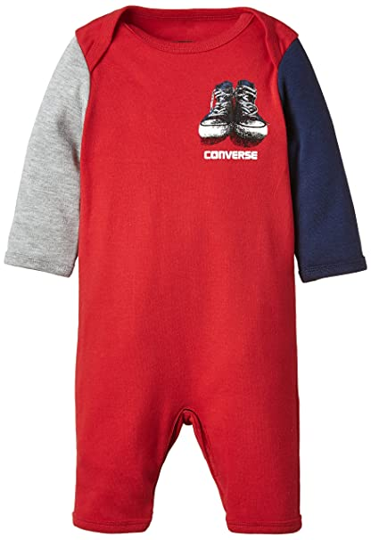 Converse Baby-Boys All Star Romper