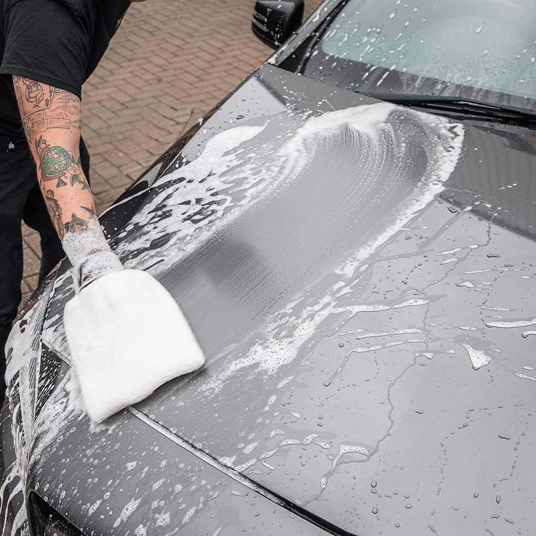 Meguiar's X3002 Microfiber Wash Mitt – Super-Thick Reusable Wash Mitt for Ultimate Finish: Automotive