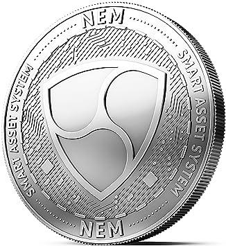 Moneda física de NEM revestida en Plata auténtico. Una ...
