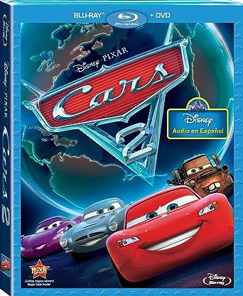 Amazon Com Cars 2 Two Disc Blu Ray Dvd Combo Spanish Edition