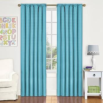 Amazon.com: Eclipse Kids Kendall Room Darkening Thermal Curtain ...