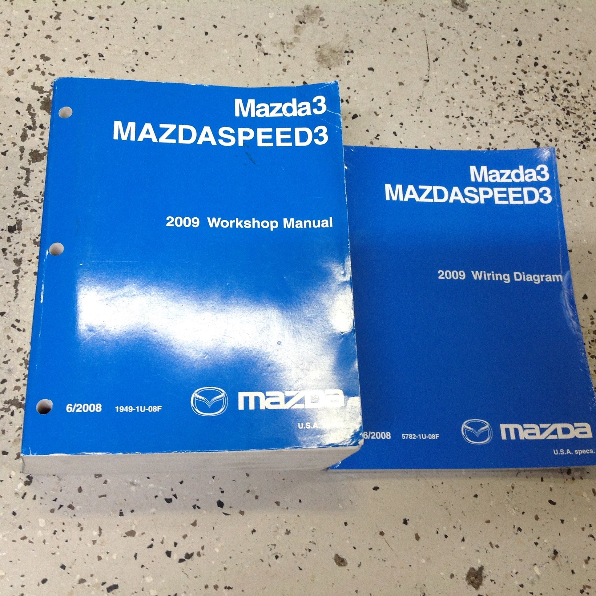 2009 mazda mazda 3 mazdaspeed3 workshop service shop repair manual rh amazon com 2007 Mazdaspeed 3 2009 Mazdaspeed 3 Turbo