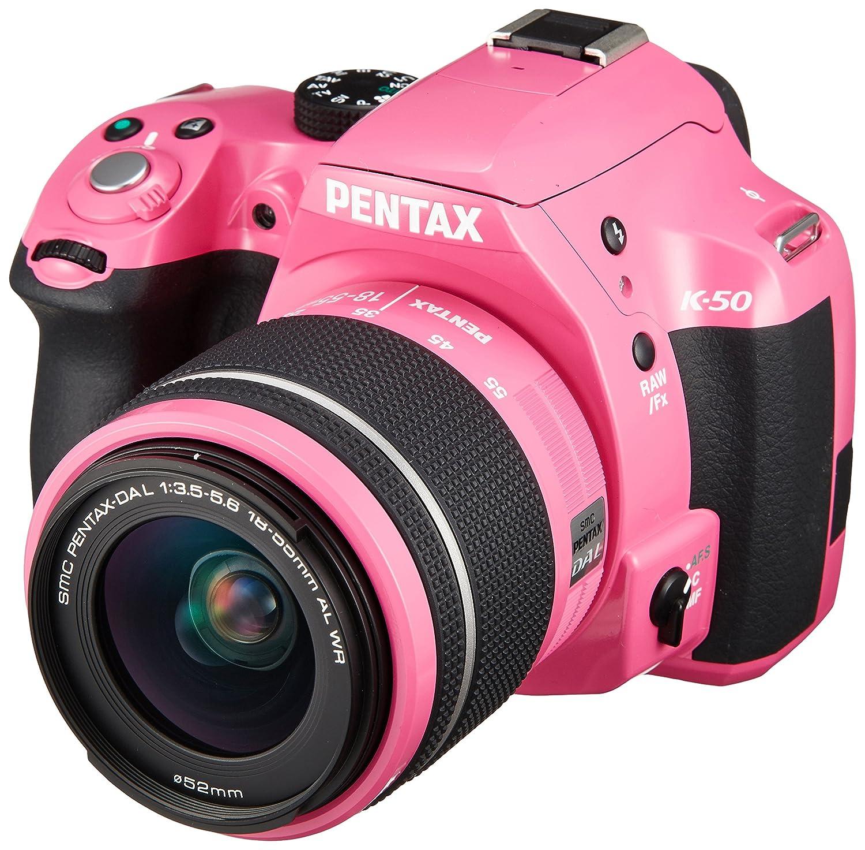Amazon.com : Pentax K-50 16MP Digital SLR Camera Kit with DA L 18 ...