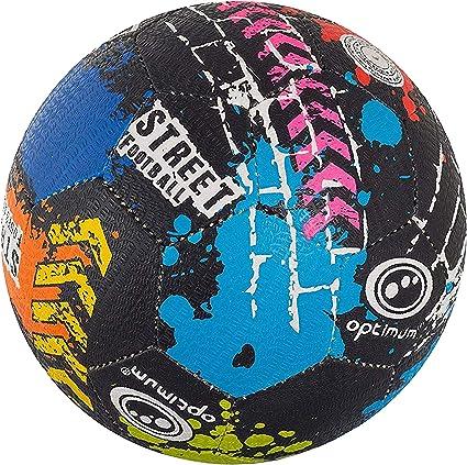 OPTIMUM Fútbol Callejero, Multicolor, tamaño 4, Unisex-Adult ...