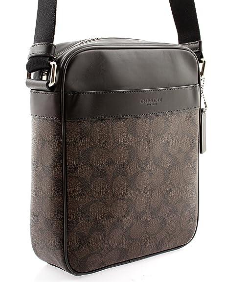 Amazon.com  Coach Flight Bag in Signature (Mahogany Brown) - F54788 MA BR   Shoes 07dad5b6ae614