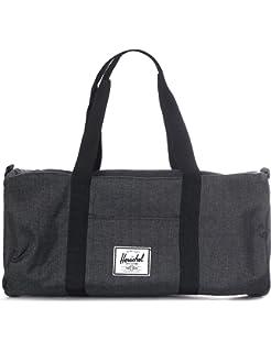Herschel Sutton Mid-Volume Duffel Bag Crosshatch Black b498072c7685f