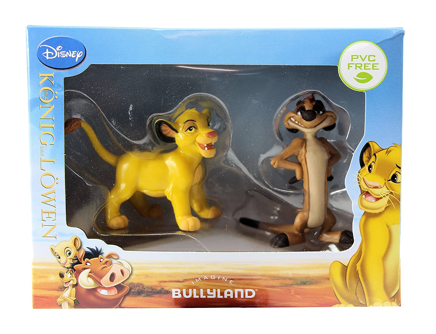 Bullyland Disney The Lion King Simba & Timon Figures Cake Toppers In Gift Box: Amazon.es: Juguetes y juegos