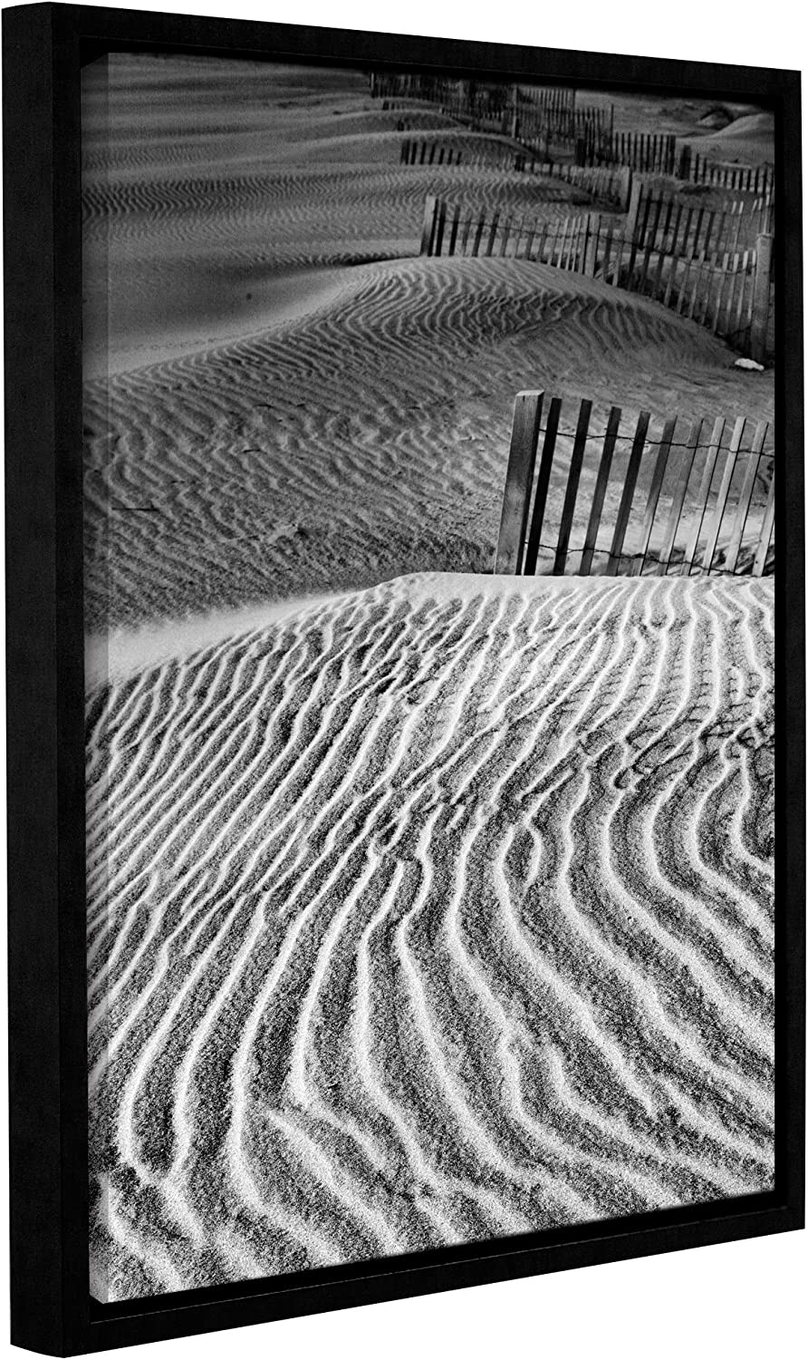 Artwall Steve Ainsworth S Dune Patterns Gallery Wrapped Floater Framed Canvas 14 X 18 Posters Prints