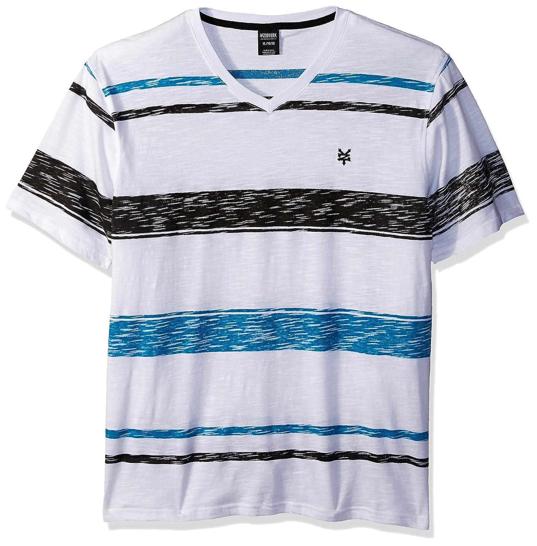 Zoo York Mens Short Sleeve Gradual V Neck Knit Shirt