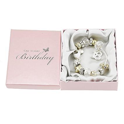Juliana 18 18th Birthday Charm Bracelet Silver & Gold 5Qf9Ch2eA