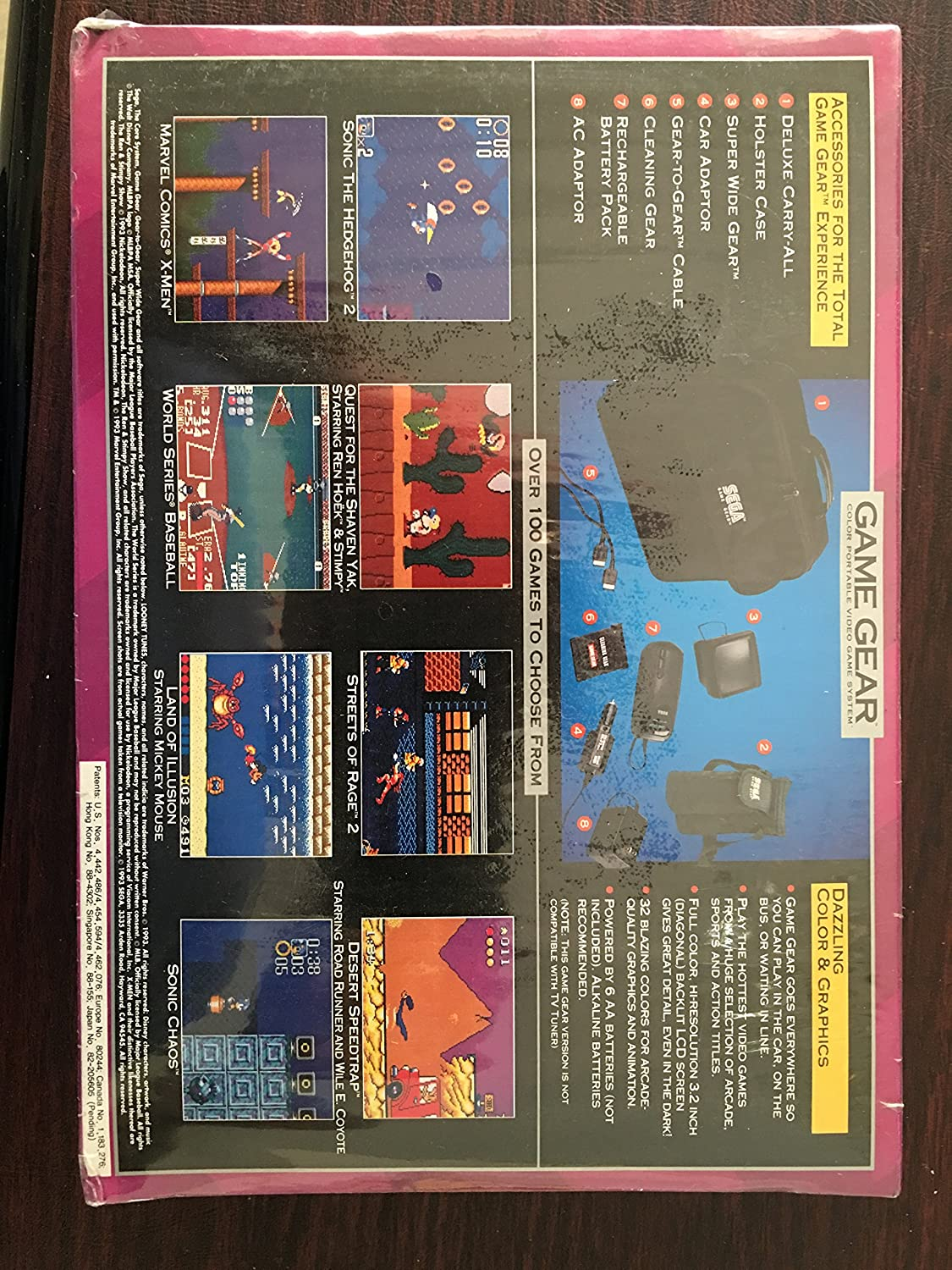game gear colors : Game Gear Colors 48