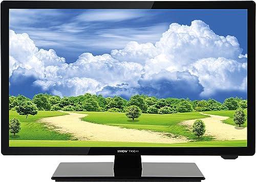 Inovtech televisor LED de alta definición ultra compact 47 cm + DVD ...