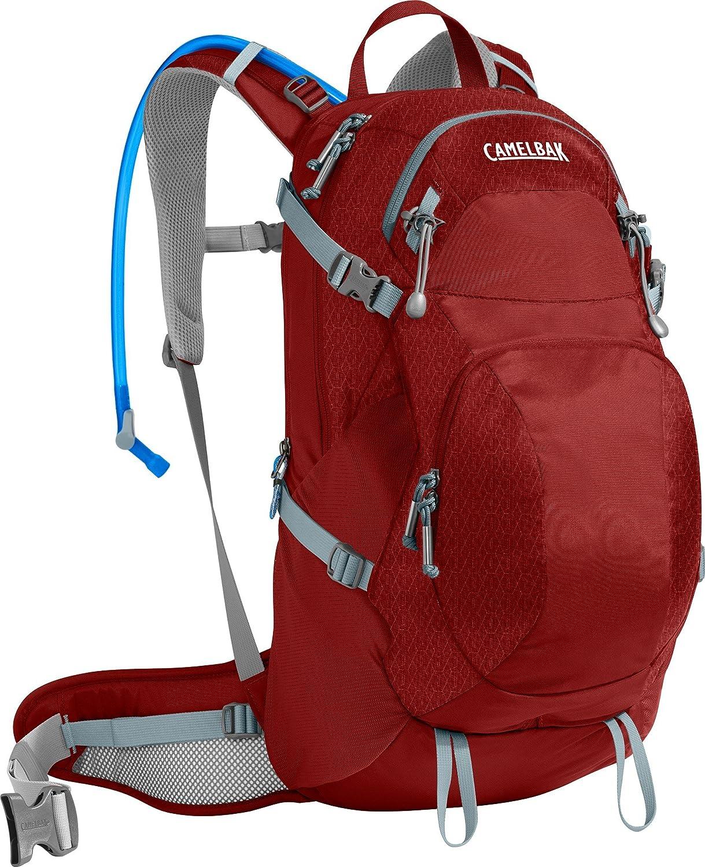 [キャメルバック]CamelBak Sequoia 22 Hydration Pack - レディース - 3 Liters デイパック 100 oz [並行輸入品] B01N3AUP7E RED DHALIA/STONE BLUE
