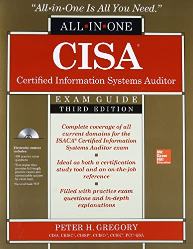 CISA Certified Information Systems Auditor All-in-One Exam Guide; Third Edition