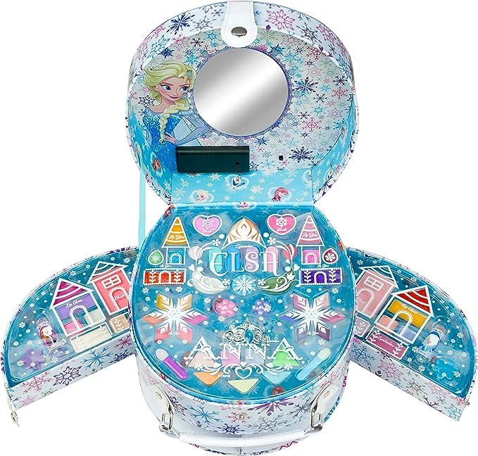 Disney Frozen - Icy Glow Beauty Vanity, maletin de maquillaje (Markwins 9607210): Amazon.es: Juguetes y juegos