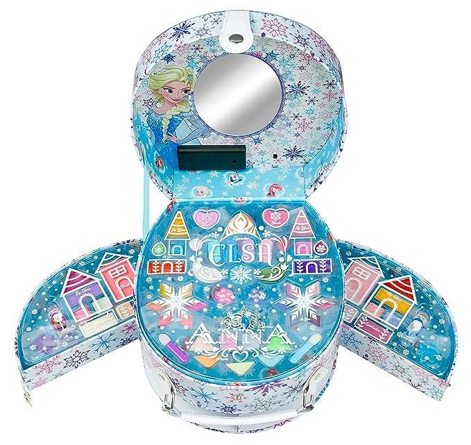 Disney Frozen - Icy Glow Beauty Vanity, maletin de maquillaje (Markwins 9607210)