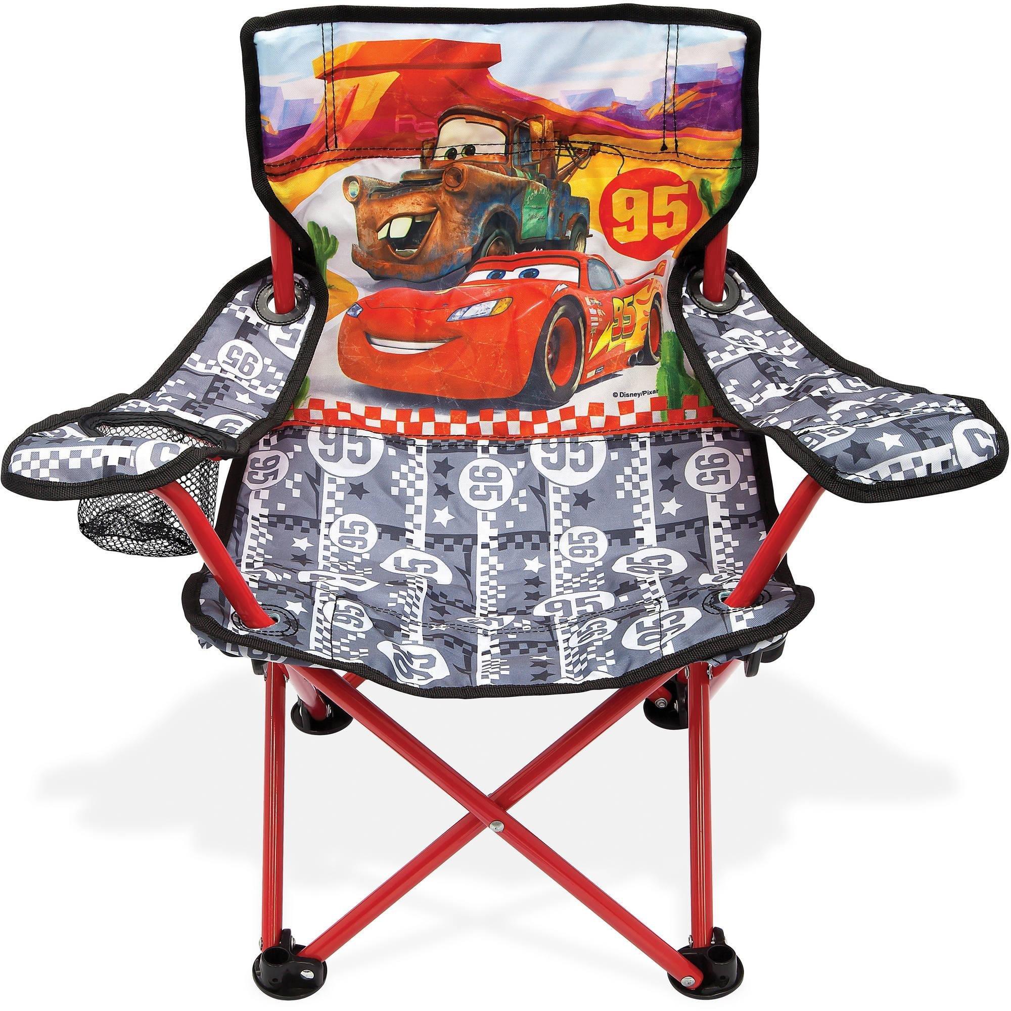 Cars Disney's Rule The Road Fold N Go Chair