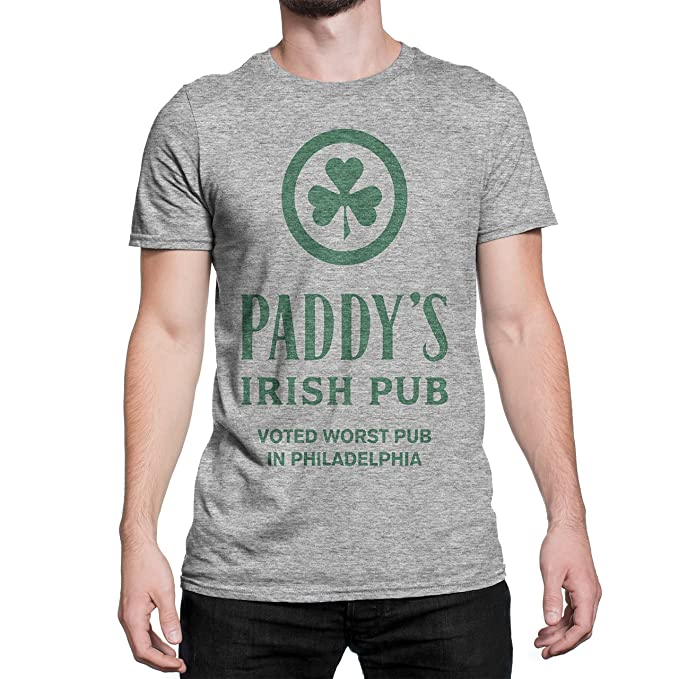 Amazon.com: Paddy del Pub peor Bar en Philly Camisa, XL ...