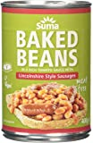 Suma Baked Beans and Vegan Sausage 400 g (Pack of 12)