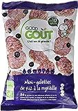 Good Goût Mini Galettes de Riz à la Myrtille dès 10 Mois Bio 40 g - Lot de 5