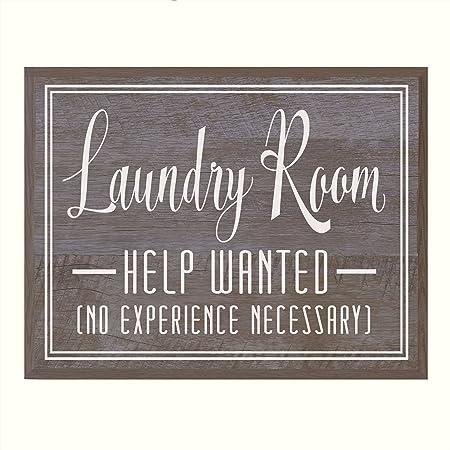 Amazon De Laundry Room Wall Art Decor Dekoration Home Decor Schild Fur Badezimmer Mit Zitat Von