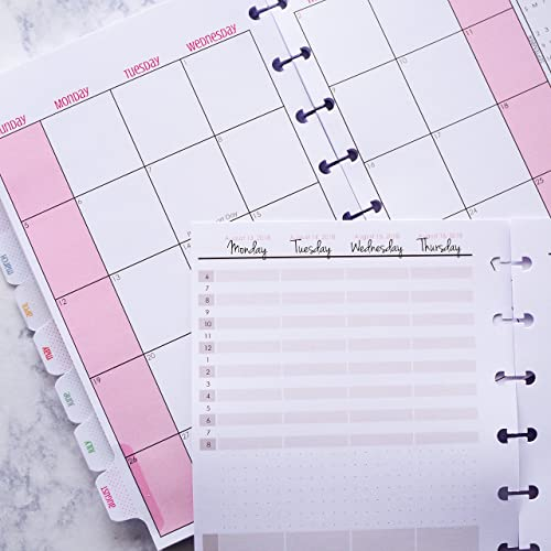 amazon com dated 2018 monthly weekly calendar planner insert for