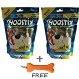Goofy Tails - Choostix Joint Plus Dog Treat (Pack of 2) With Key Chain