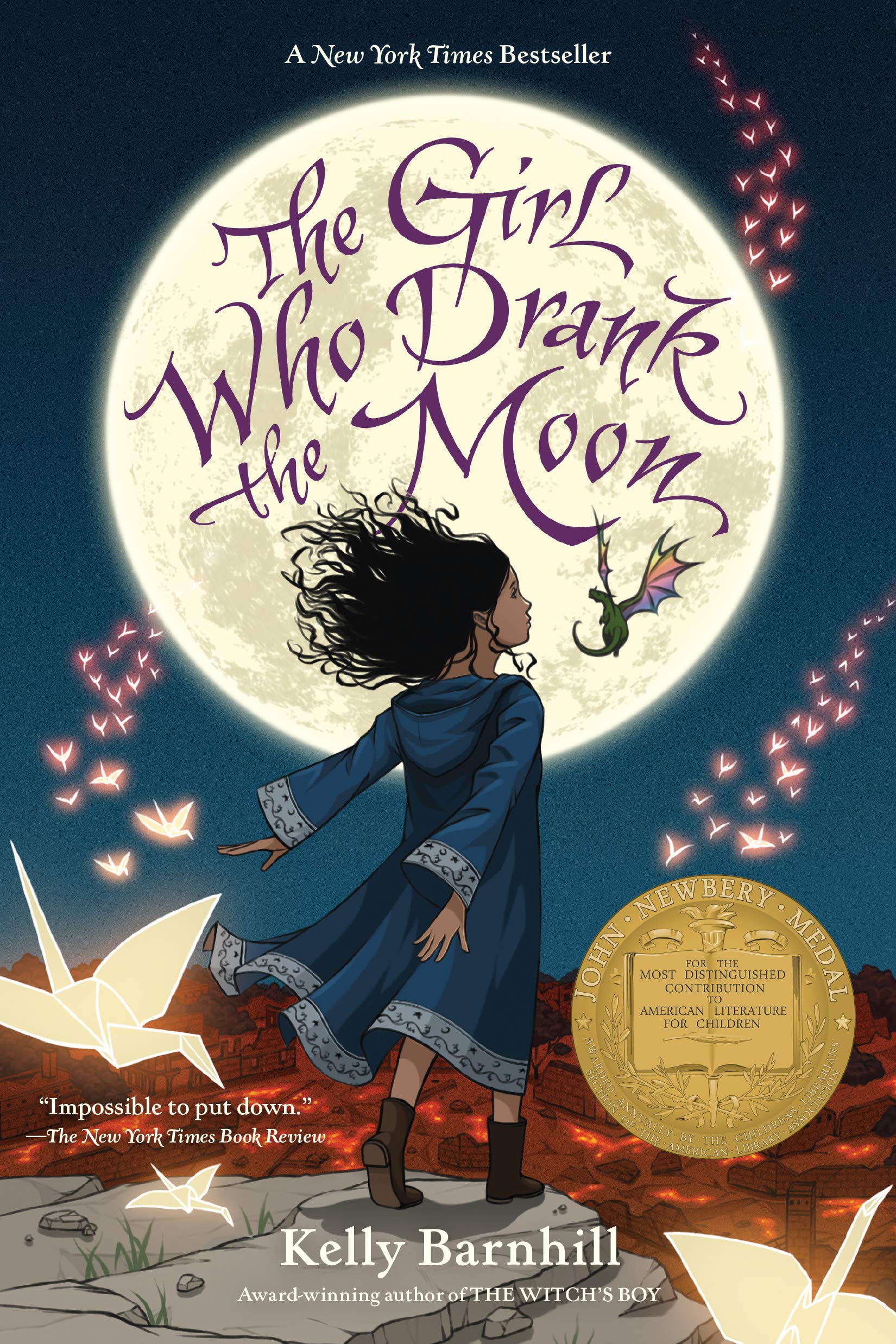 The Girl Who Drank the Moon (Winner of the 2017 Newbery Medal) for free download pdf epub