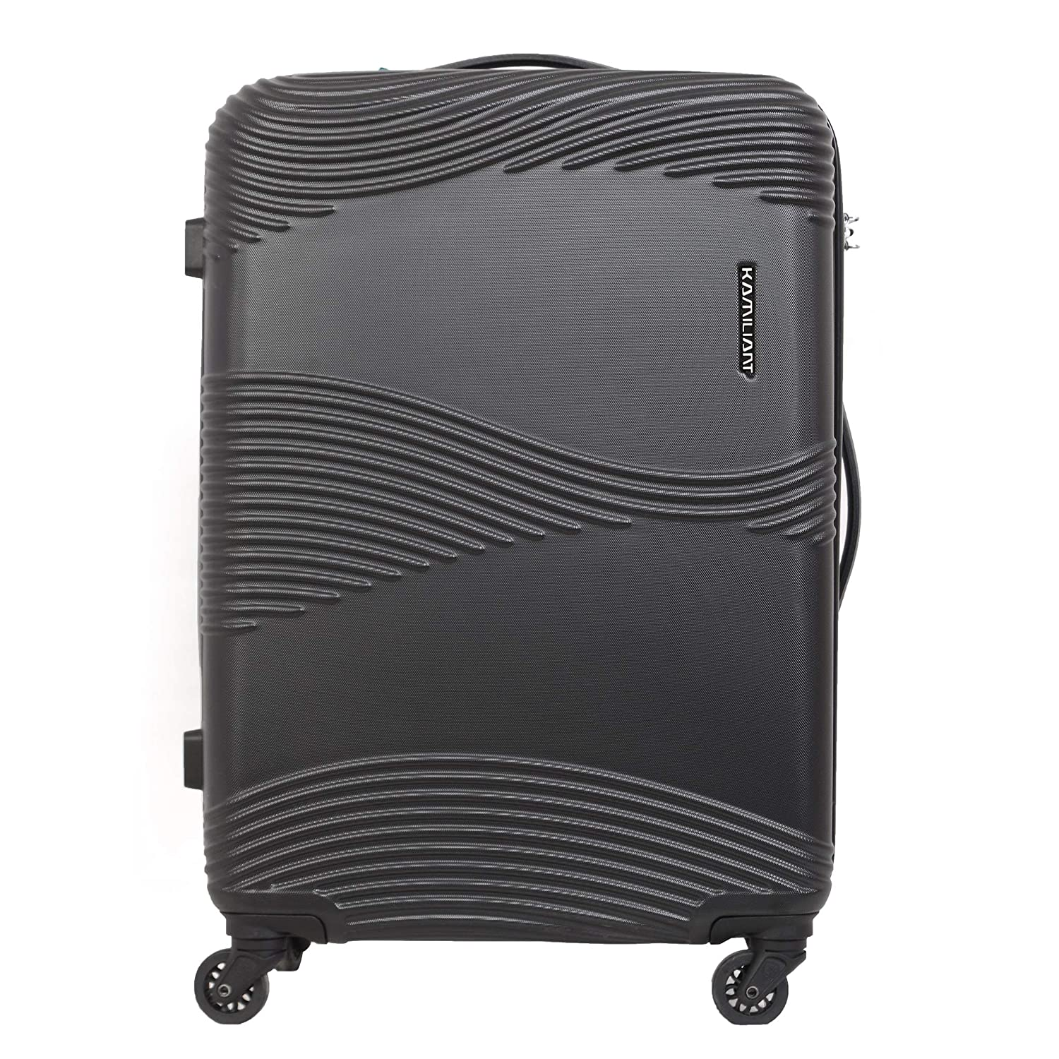 Kamiliant Kam Teku ABS 68 cms Black Hardsided Check-in Luggage (KAM TEKU SP 68cm TSA - Black)