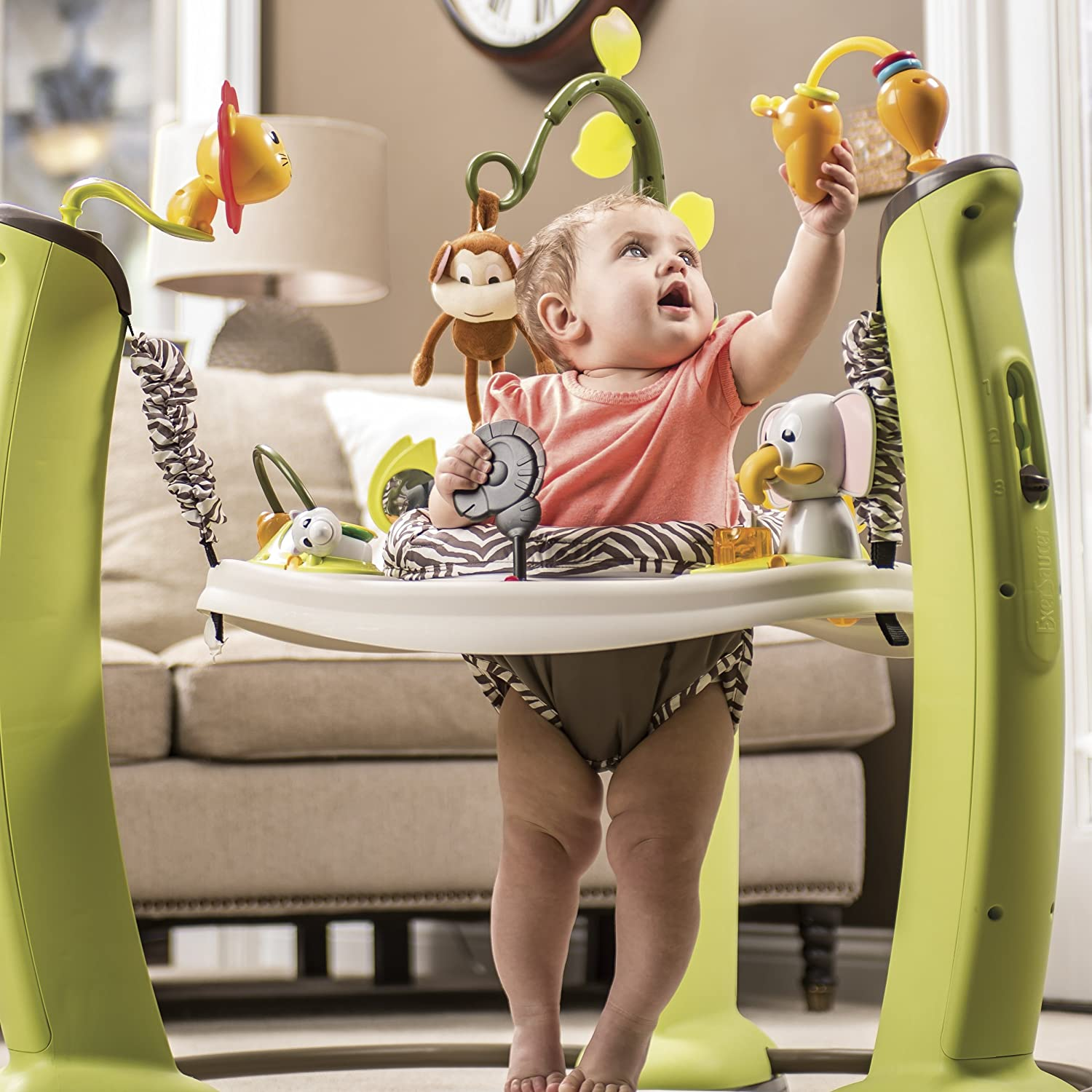 045ee2729 Amazon.com   Evenflo ExerSaucer Jump and Learn Jumper