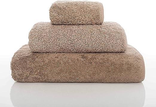 graccioza largo doble loop toalla colección – Piedra – , fabricado en Portugal, 700-gsm, 100% algodón egipcio: Amazon.es: Hogar
