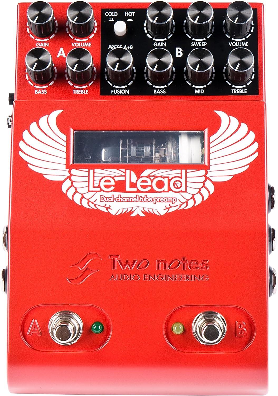 Two Notes Le Lead Dual Channel Preamp · Pedal guitarra eléctrica