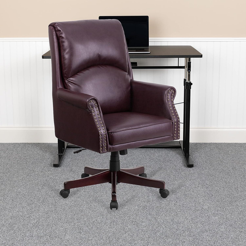 Flash Furniture Burgundy High Back Chair